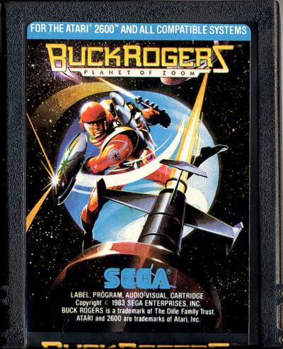 Buck Rogers: Planet of Zoom - Cartridge Scan
