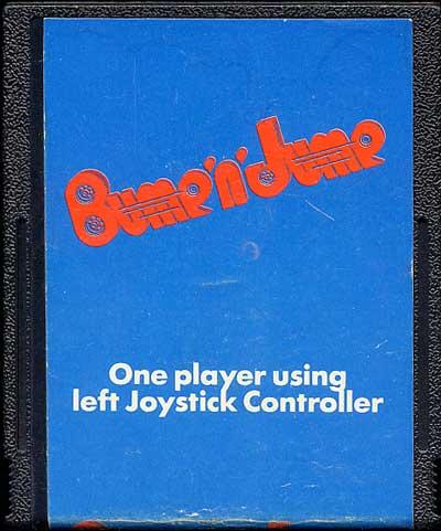 Bump N' Jump - Cartridge Scan