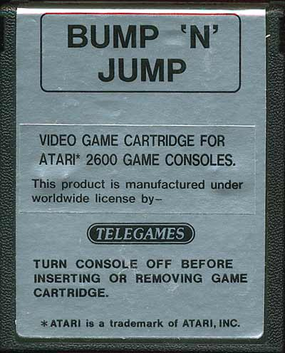 Bump 'n' Jump - Cartridge Scan