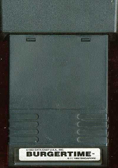Burgertime - Cartridge Scan