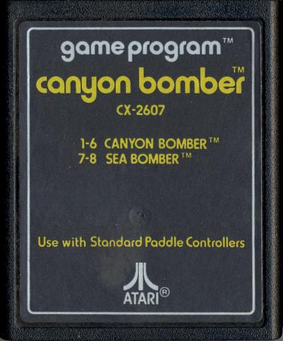 Canyon Bomber - Cartridge Scan