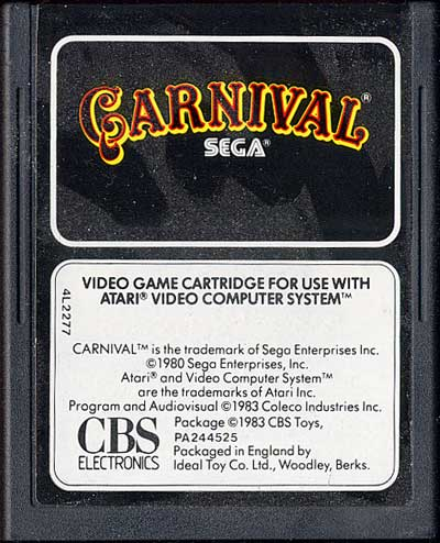 Carnival - Cartridge Scan