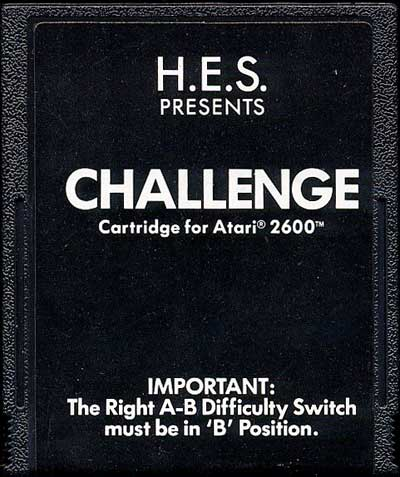 Challenge - Cartridge Scan