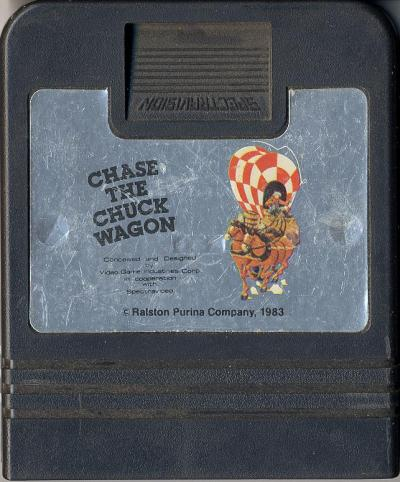 Chase the Chuck Wagon - Cartridge Scan