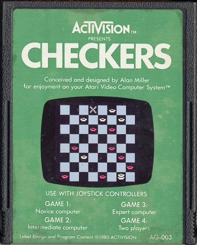 Checkers - Cartridge Scan