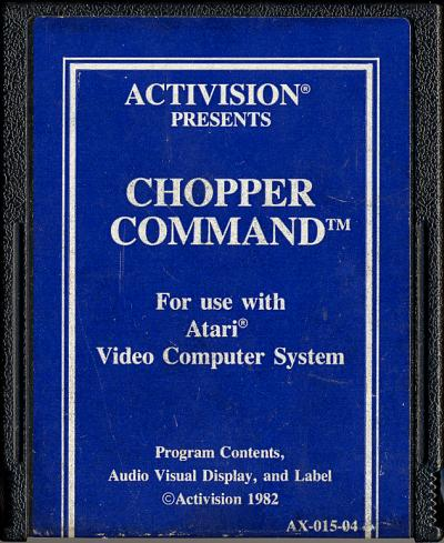 Chopper Command - Cartridge Scan