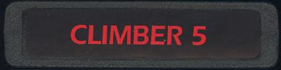 Climber 5 - Cartridge Scan