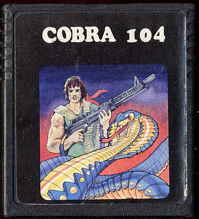 Cobra 104 - Cartridge Scan