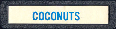 Coconuts - Cartridge Scan