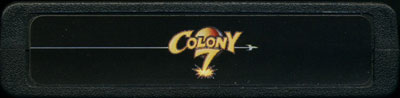 Colony 7 - Cartridge Scan
