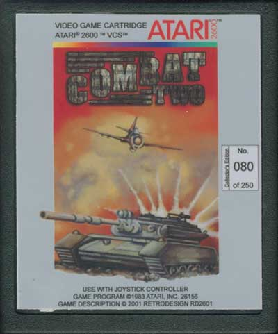 Combat Two - Cartridge Scan