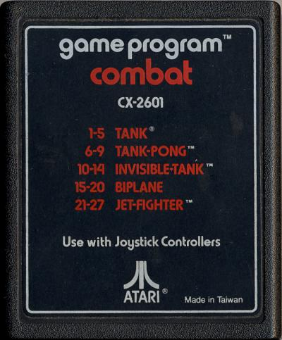 Combat - Cartridge Scan