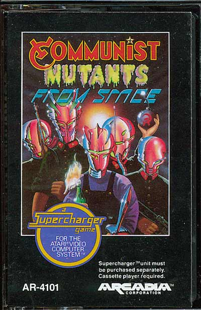 Communist Mutants from Space - Cartridge Scan