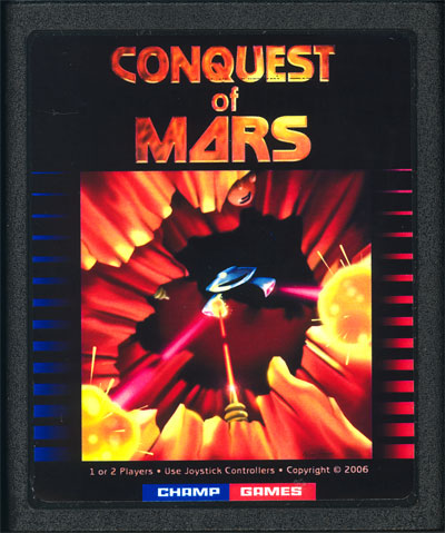 Conquest of Mars - Cartridge Scan