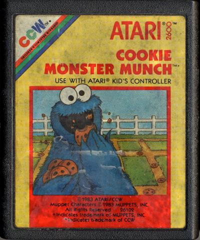 Cookie Monster Munch - Cartridge Scan