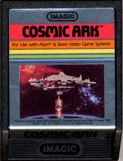 Cosmic Ark - Cartridge Scan