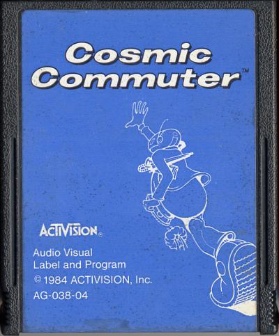Cosmic Commuter - Cartridge Scan