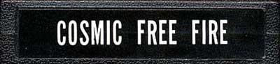 Cosmic Free Fire - Cartridge Scan