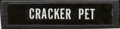 Cracker Pet - Cartridge Scan