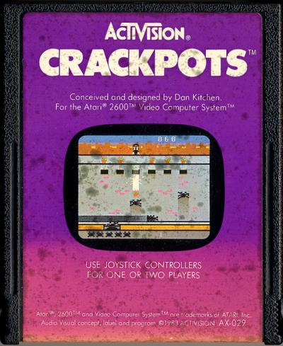 Crackpots - Cartridge Scan