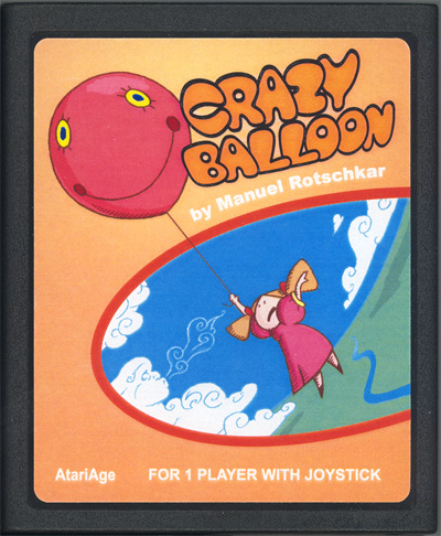 Crazy Balloon - Cartridge Scan