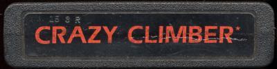 Crazy Climber - Cartridge Scan