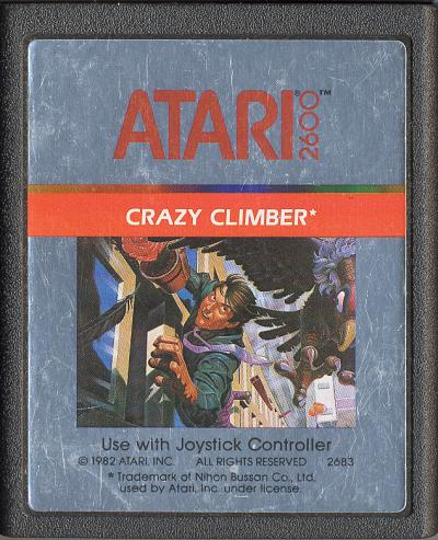Crazy Climber - Cartridge Scan