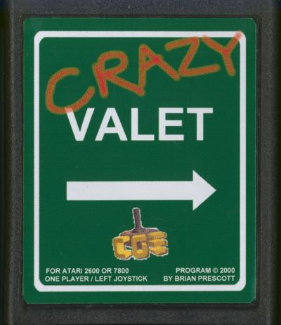 Crazy Valet CGE - Cartridge Scan
