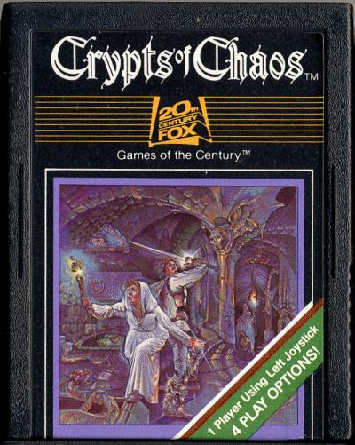Crypts of Chaos - Cartridge Scan