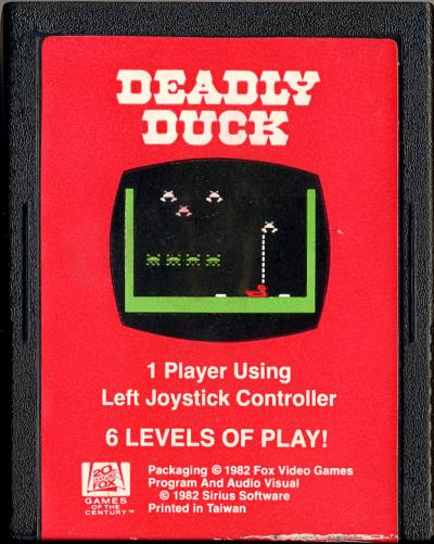 Deadly Duck - Cartridge Scan