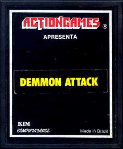 Demmon Attack - Cartridge Scan