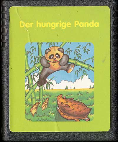 Der Hungrige Panda - Cartridge Scan