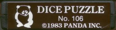 Dice Puzzle - Cartridge Scan
