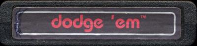 Dodge 'Em - Cartridge Scan