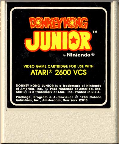 Donkey Kong Junior - Cartridge Scan