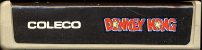 Donkey Kong - Cartridge Scan