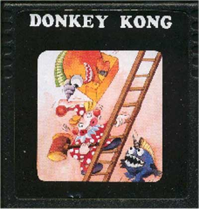 Donkey Kong - Cartridge Scan