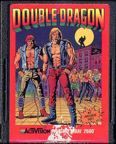 Double Dragon - Cartridge Scan