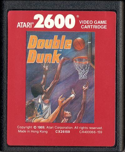 Double Dunk - Cartridge Scan