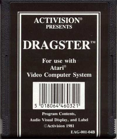 Dragster - Cartridge Scan