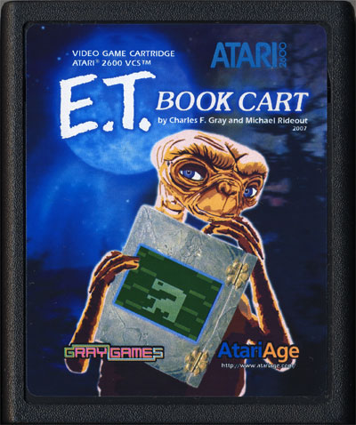 E.T. Book Cart - Cartridge Scan