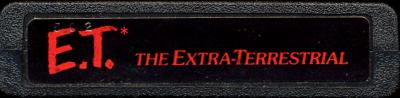 E.T. The Extra-Terrestrial - Cartridge Scan
