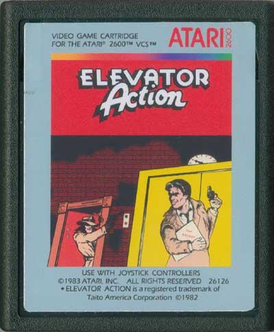 Elevator Action - Cartridge Scan