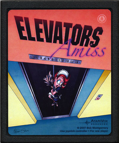 Elevators Amiss - Cartridge Scan