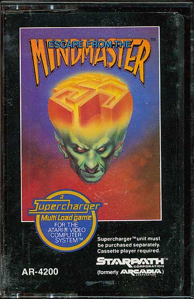 Escape From the Mindmaster - Cartridge Scan