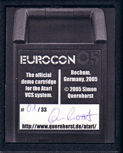 Eurocon2005 - Cartridge Scan