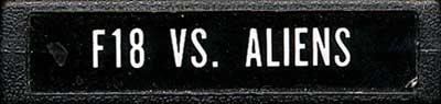 F18 Vs. Aliens - Cartridge Scan