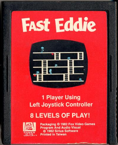 Fast Eddie - Cartridge Scan
