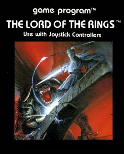 Lord of the Rings: Fellowship of the Ring - Cartridge Scan