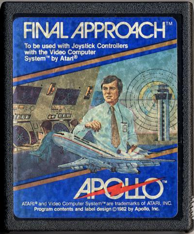 Final Approach - Cartridge Scan